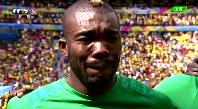 【花絮】迪耶激动流泪 踢世界杯是意外之喜截图