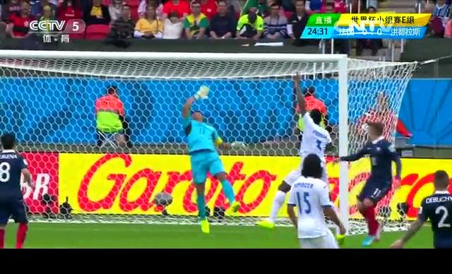 【法国集锦】法国3-0洪都拉斯 本泽马两球助高卢雄鸡首胜截图