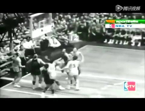 保罗阿里金赛场珍贵黑白影像 跳投始祖神迹重现截图