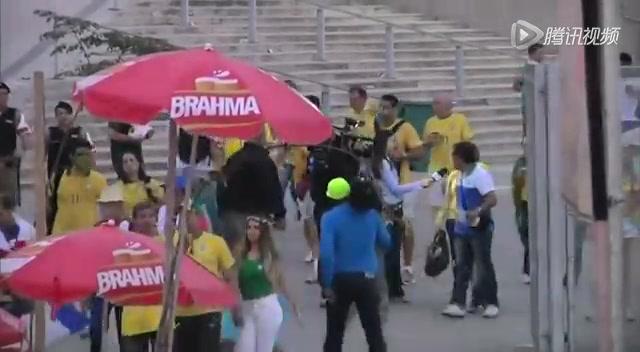 巴西球迷中场即低落离场 耻辱7分钟球迷痛苦截图