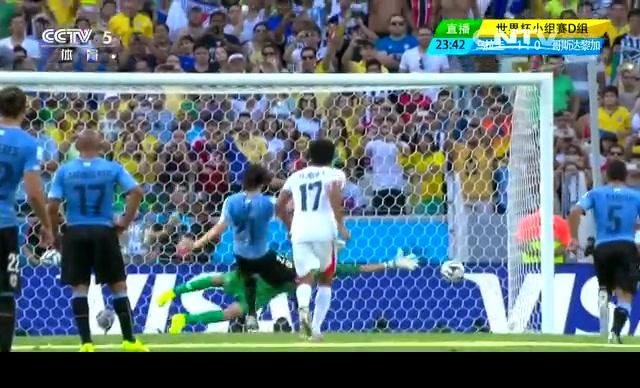 【乌拉圭集锦】乌拉圭1-3哥斯达黎加 卡瓦尼建功截图