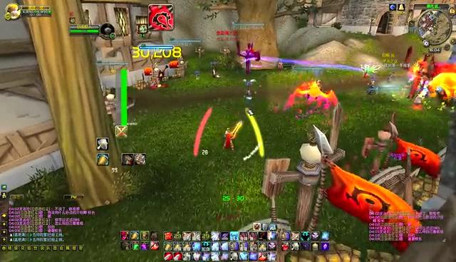 玩家自制魔兽世界技能特效
