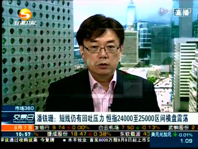 20140807铁珊:港股短线仍有回吐压力截图