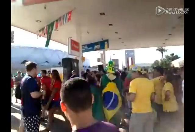 美国球迷创意完胜葡萄牙截图