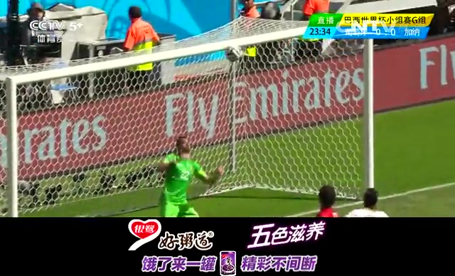 全场集锦:葡萄牙2-1加纳仍出局 C罗带伤破门截图