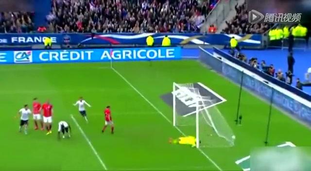 热身赛法国4-0大胜挪威 博格巴破门吉鲁两球截图