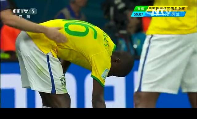 【全场集锦】巴西0-3荷兰 范大将军点球建功截图