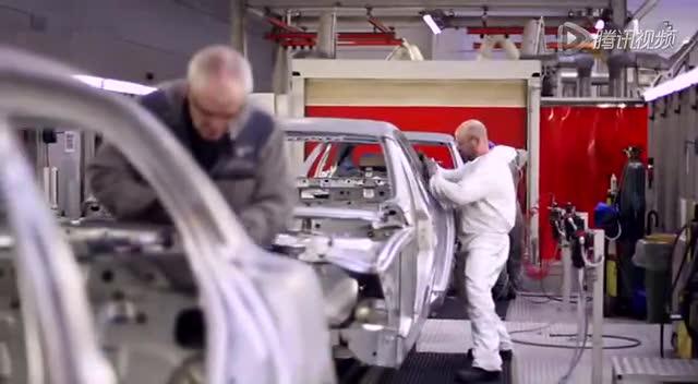 宾利慕尚豪华旗舰车 车身生产过程揭秘截图