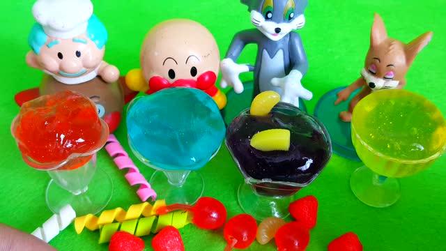 韩国水晶彩泥给芭比娃娃 猪猪侠超人强洗澡澡 - 玩具