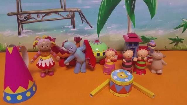 花园宝宝的音乐会乐器 儿童手工diy制作趣味亲子玩具游戏