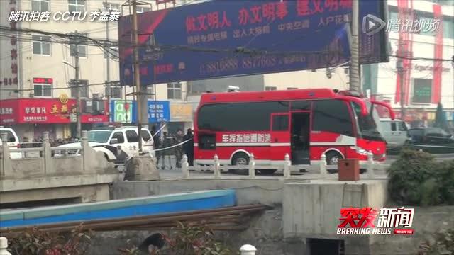 【拍客】河南新乡KTV凌晨发生火灾致11人死亡截图