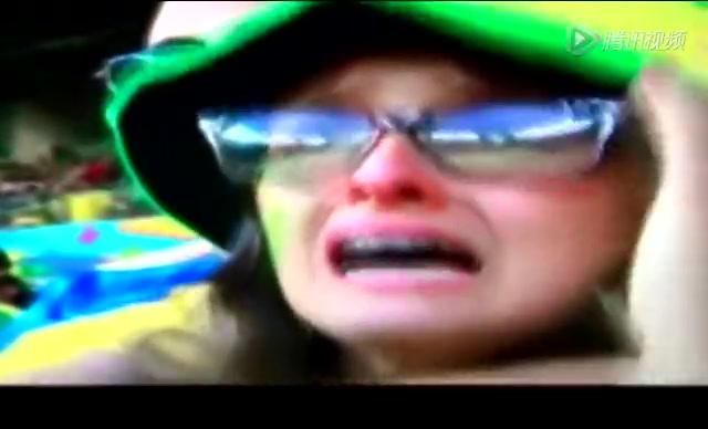【花絮】巴西1-7惨败德国 球迷痛哭惨不忍睹截图
