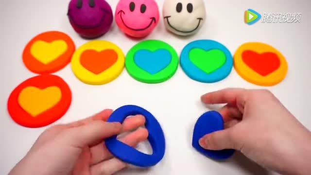 双语颜色学习宝宝制作彩泥送给妈妈的礼物