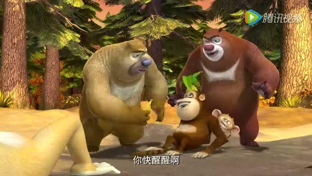 熊出没之秋日团团转吉吉的挑战图片