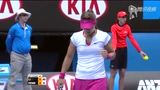 1/4决赛:李娜左右开弓轻松直落两盘 狂扫佩内塔