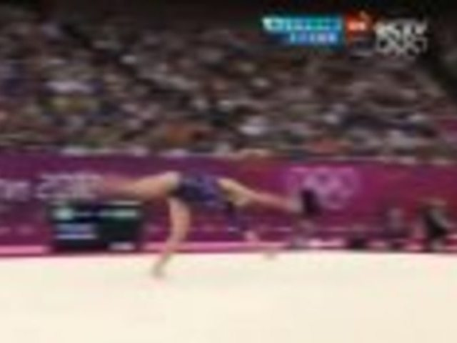 视频:女子自由操决赛 意大利法拉利14.900分