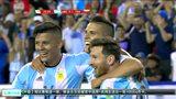 阿根廷4-1委内瑞拉进四强 梅西传射平纪录伊瓜因双响