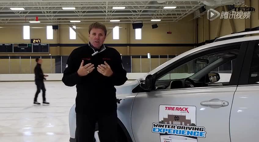 看冬季轮胎与全季节轮胎在冰面行驶的差异截图