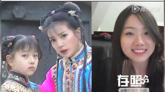 香港童星扮明星红毯造型