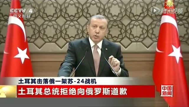 土耳其总统拒绝向俄罗斯道歉截图