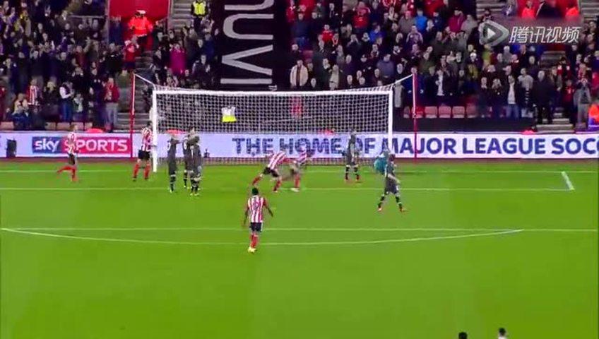 【进球】40秒城门失守!利物浦中门大开 马内头球闪击截图