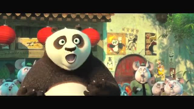 《功夫熊猫3》日语版预告片公布