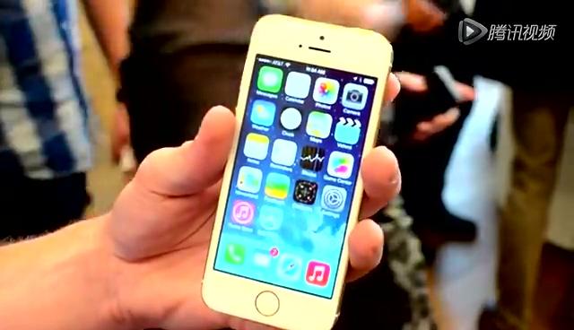 苹果iPhone 5s上手试用截图