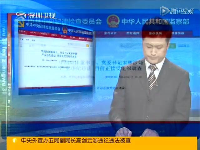 华润集团董事长宋林被查 此前遭记者实名举报截图