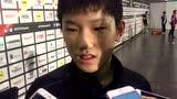 [采访]张本智和:赢在发球和对攻 乒球不分年龄