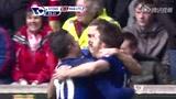 进球视频:范佩西角球造混乱 卡里克捅射破门