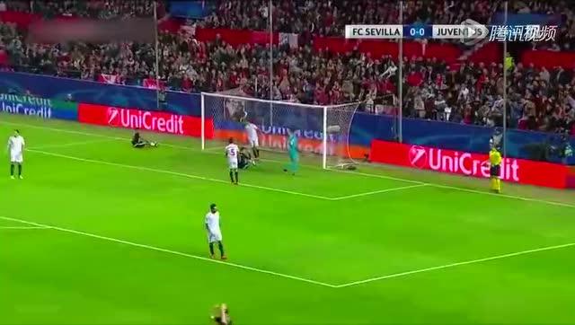 【集锦】尤文0-1塞维利亚 狮王建功迪巴拉中柱截图