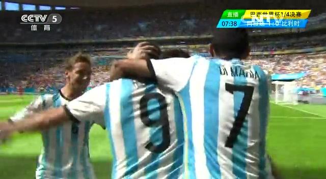 【巨星集锦】梅西主导进攻 阿根廷顺利挺进四强截图