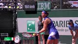 法网女单资格赛第二轮 赫拉德卡VS阿恩 第二盘