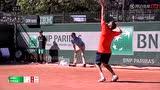 法网男单资格赛第三轮 嘉里VS欧派尔卡 第三盘