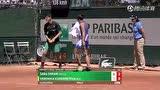 法网资格赛第二轮 埃拉尼VS库德梅托娃 第二盘