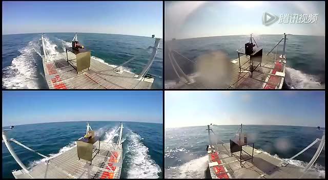高精度低成本:美国海军海上实测新式激光炮截图