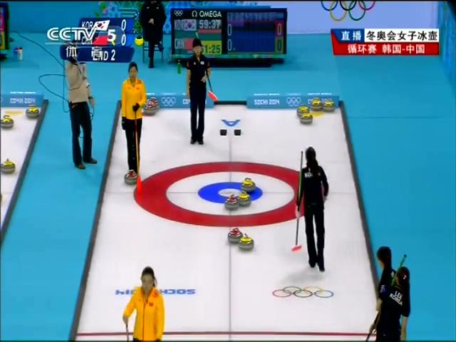 视频:女子冰壶 王冰玉得分中国3-0领先韩国