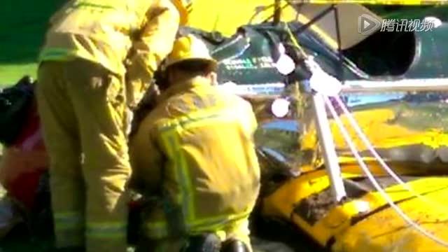 哈里森·福特发生坠机 意外受伤截图