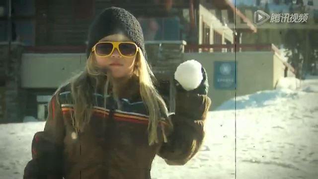 4岁萝莉秀滑雪特级