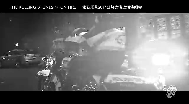 """滚石乐队""""狂热巡演""""上海站预告片截图"""