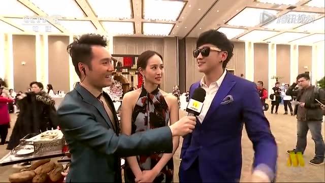 北京电影节采访 何润东以前因吃太多而上报截图