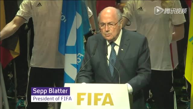 布拉特第五次当选FIFA主席 任期至2019年截图
