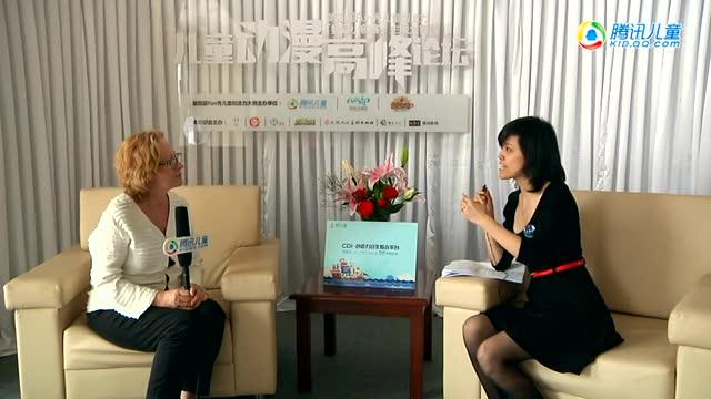 澳大利亚广播公司Sharon Ramsay访谈截图