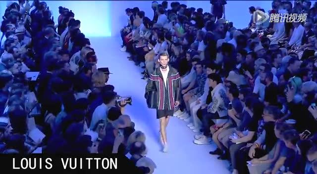2016春夏巴黎男装周LOUIS VUITTON截图