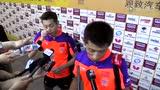 张继科:战胜最强对手很高兴 撞胸快感你懂