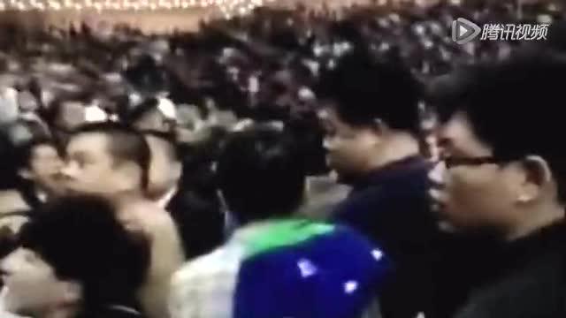 【冲突】比赛激烈看台更火爆 京辽球迷大打出手截图