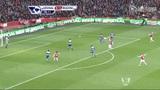 进球视频:张伯伦突破造点 阿尔特塔一蹴而就