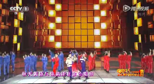 广场舞占领春晚舞台啦!筷子兄弟凤凰传奇嗨唱《最炫小苹果》截图