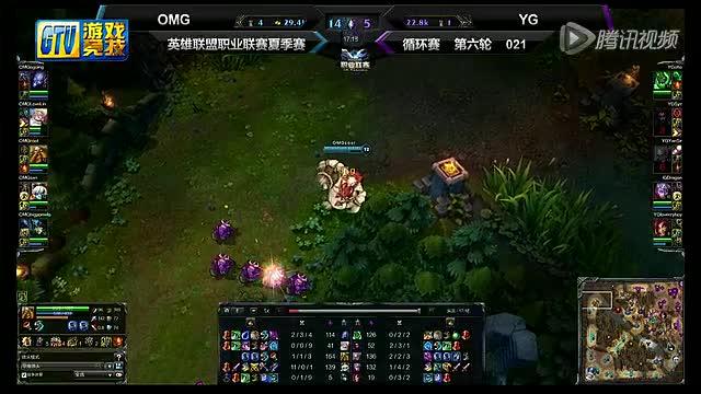 【LPL夏季赛】循环赛021:OMG - YG