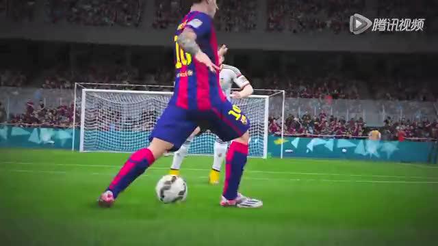 《FIFA 16》精彩幕后 金球梅西教你如何带球过人
